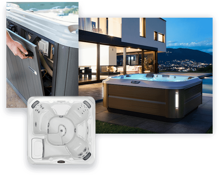 Various makes and models serviced by Fix My Hot Tub